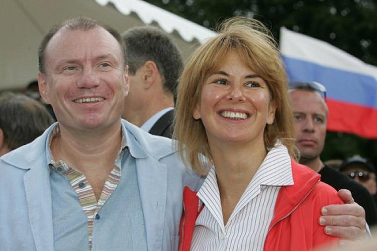Владимир и Наталья Потанины в 2004 году.