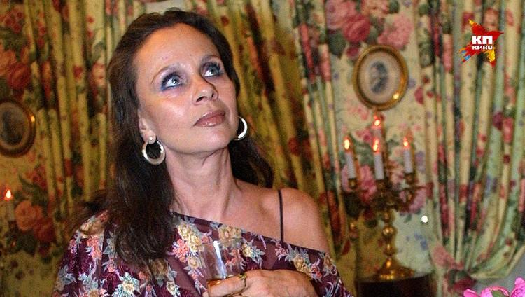 Актриса Любовь Полищук.