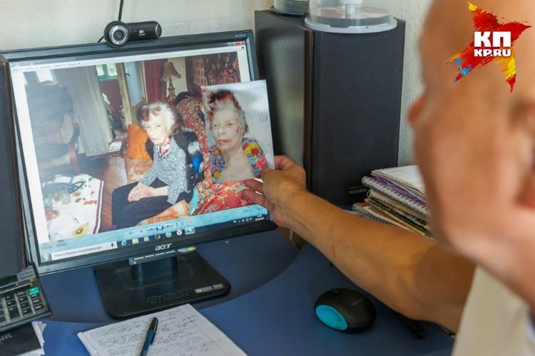Несколько дней дома превратили пенсионерку в человека