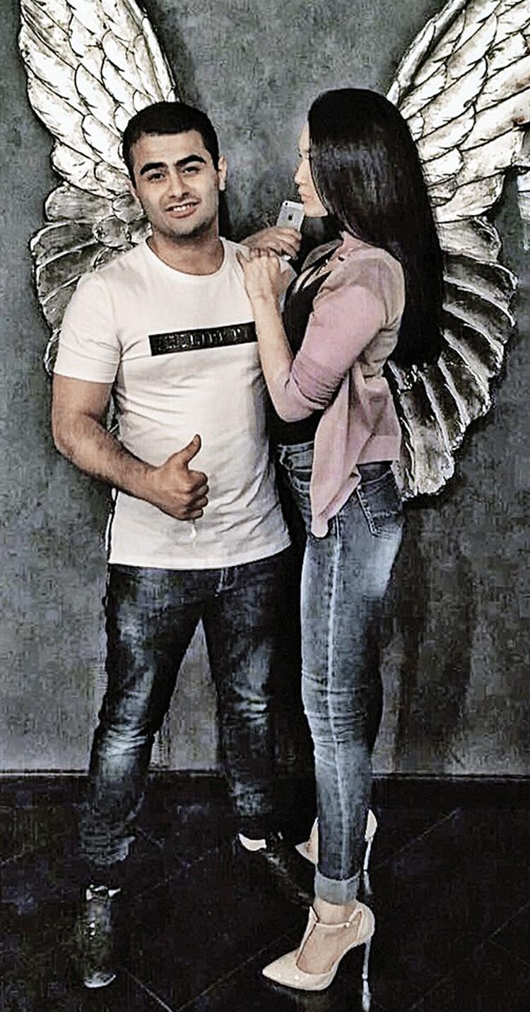 А на фотографиях со своей девушкой Полиной Анар ну просто ангелочек... Фото: Личный архив Полины
