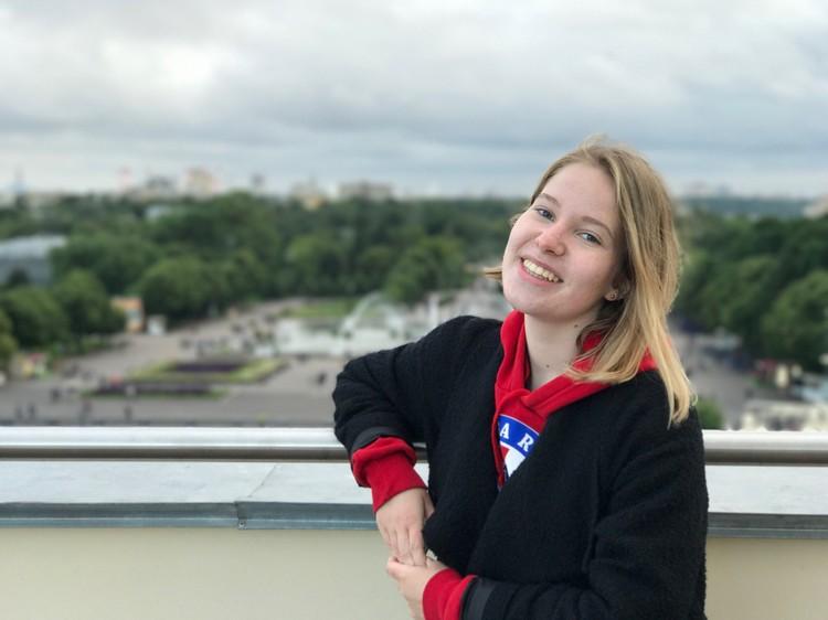 Елизавета Гусева, набравшая 100 баллов по химии, собирается стать врачом Фото: предоставлено героем публикации