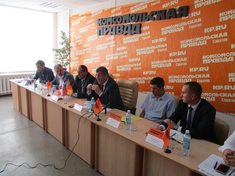 В пресс-центре КП-Саратов обсудили положение дел с отрасли грузоперевозок.