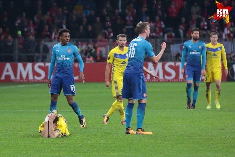 """К 25-й минуте """"Арсенал"""" забил три мяча - было больно."""