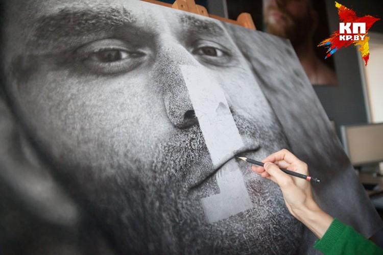 Самое сложное в мужском портрете - достоверно нарисовать бороду.