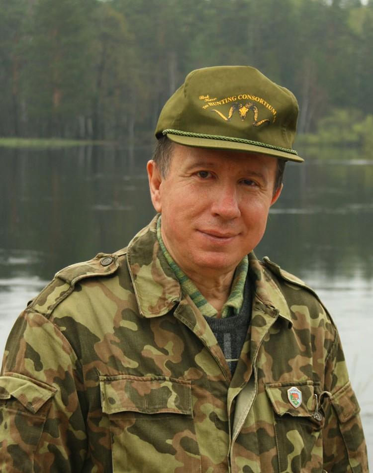 Писатель Николай Старченко.