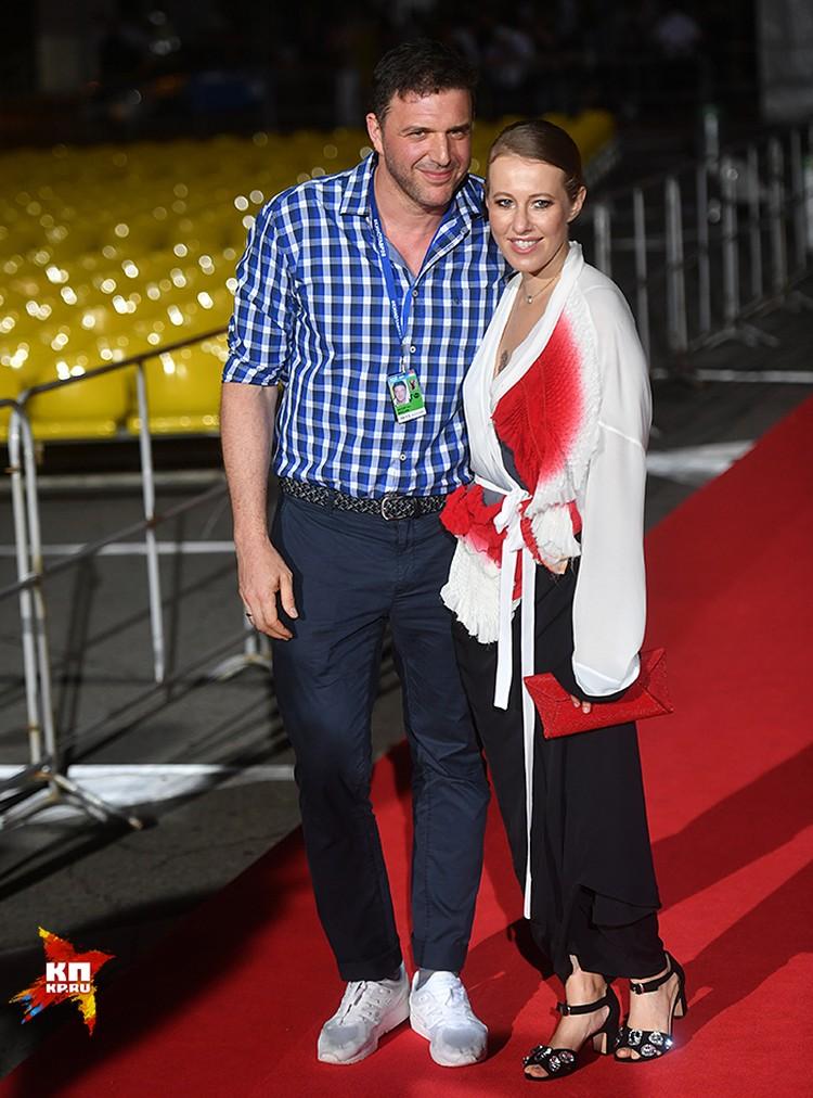 Ксения Собчак с мужем Максимом Виторганом
