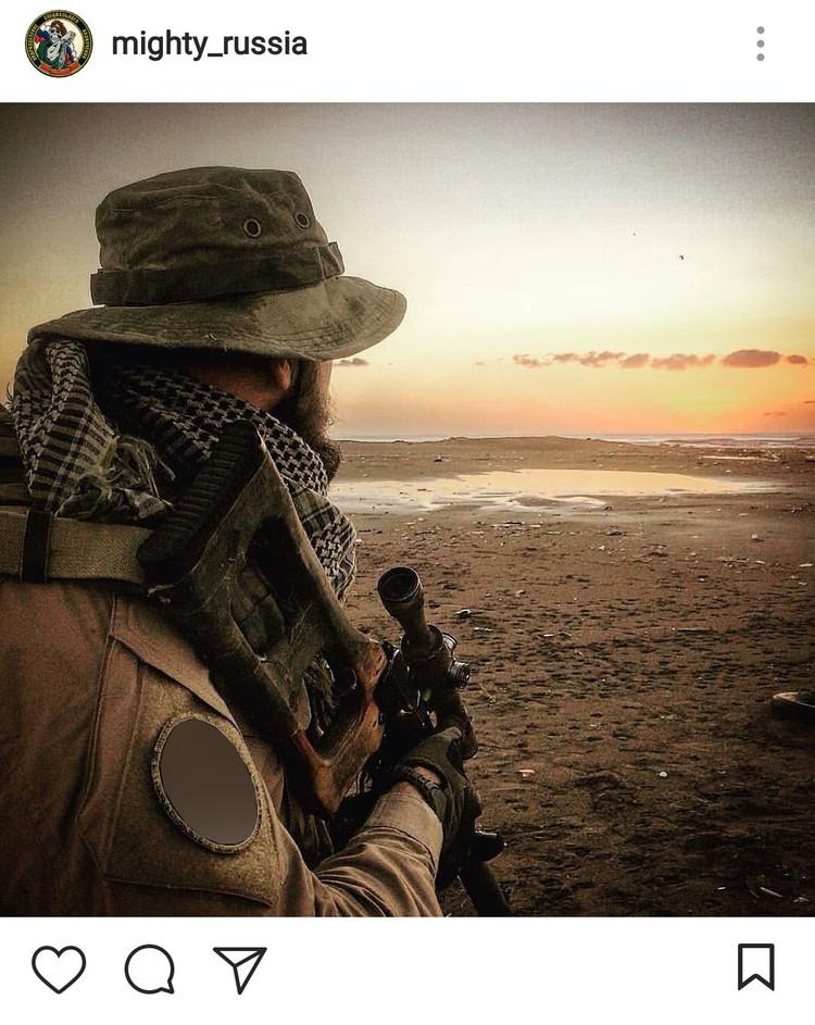 Фотографии российских «солдат удачи» периодически всплывают в соцсетях, несмотря на строгий запрет. Фото: instagram.com/mighty_russia
