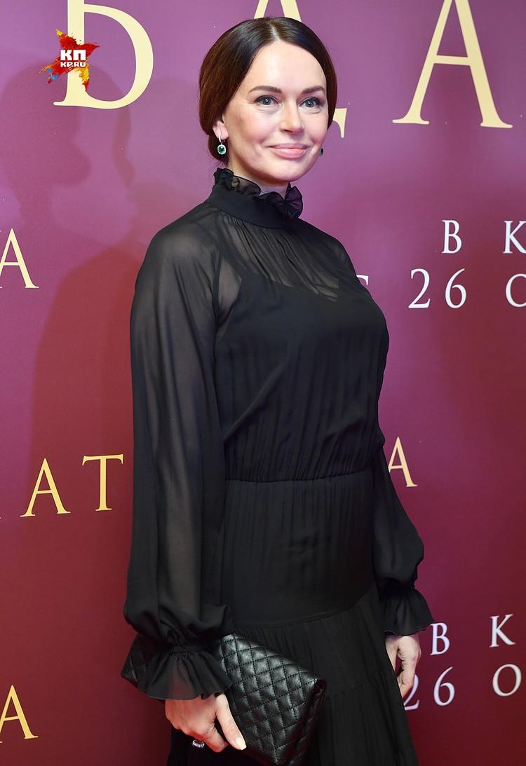 """Ирина Безрукова на премьере """"Матильды"""""""