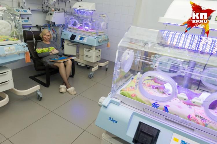 Маленьких пациентов Елены хватает на целую палату