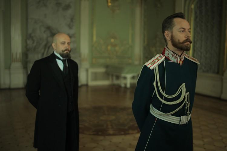 Петр Столыпин (Виталий Коваленко) и Николай II (Михаил Елисеев)