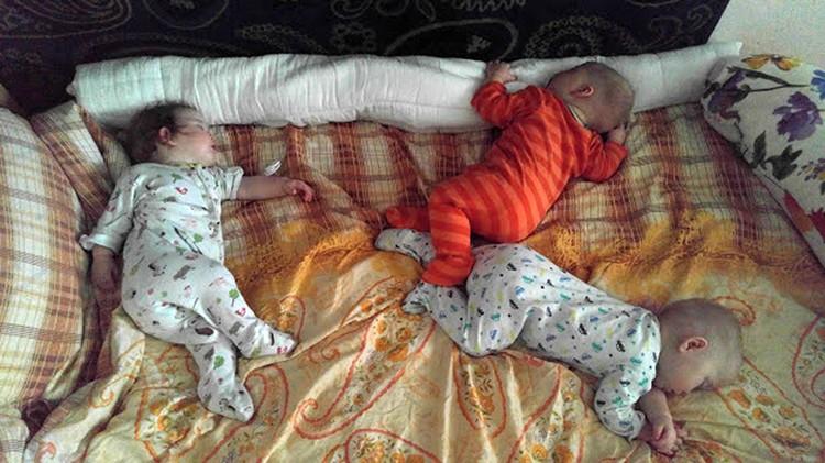 Постепенно, к году, у детей сам по себе сложился режим с дневным сном