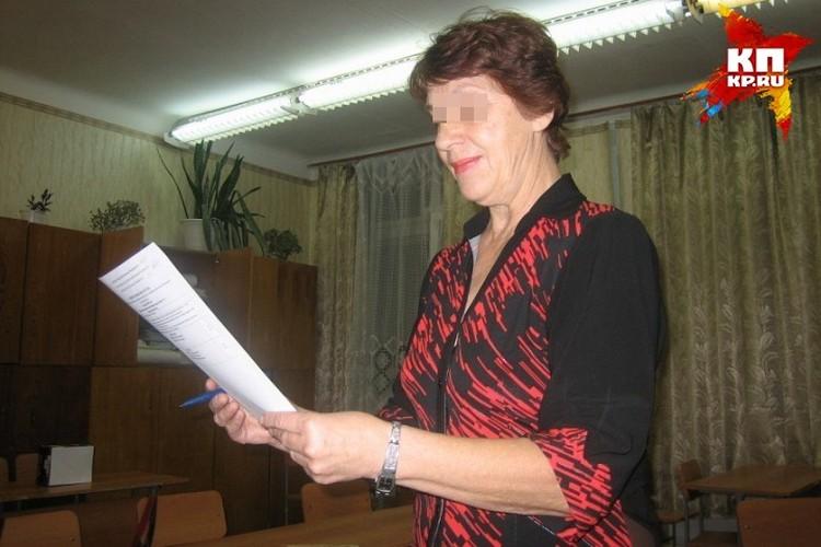Бабушка школьника - заслуженный учитель России