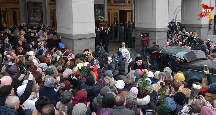Завтра на Новодевичьем кладбище пройдут похороны