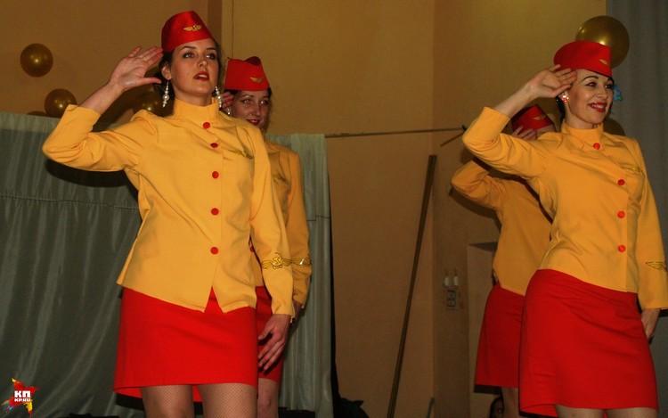 Танцевальная часть конкурса: красота да и только!
