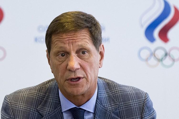 Глава Олимпийского комитета России Александр Жуков.