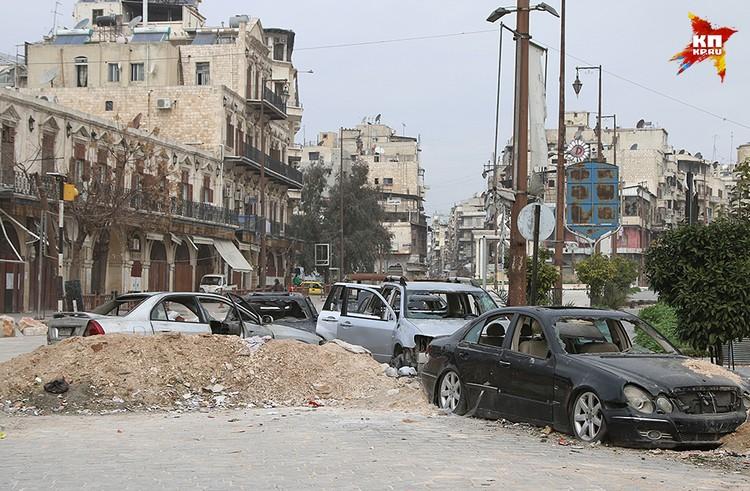 Крупнейший город Сирии по численности населения до войны был экономической столицей страны