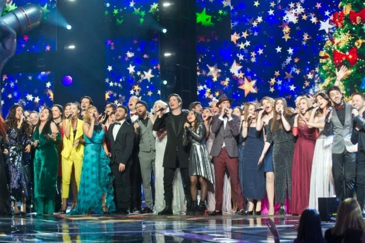 Финал шестого сезона телешоу «Голос». Фото: Максим ЛИ