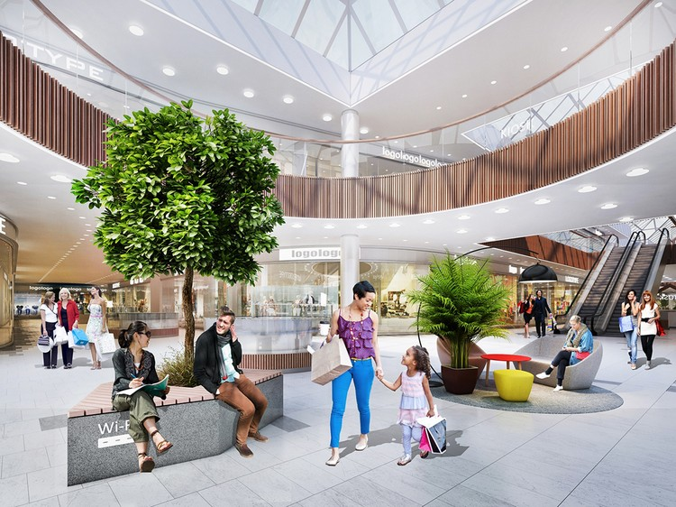 Многофункциональный торгово-сервисный центр назовут «Новамолл». Фото: пресс-служба Москомархитектуры