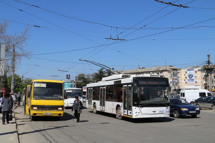 Осенью с улиц крымской столицы исчезнут старые маршрутки.