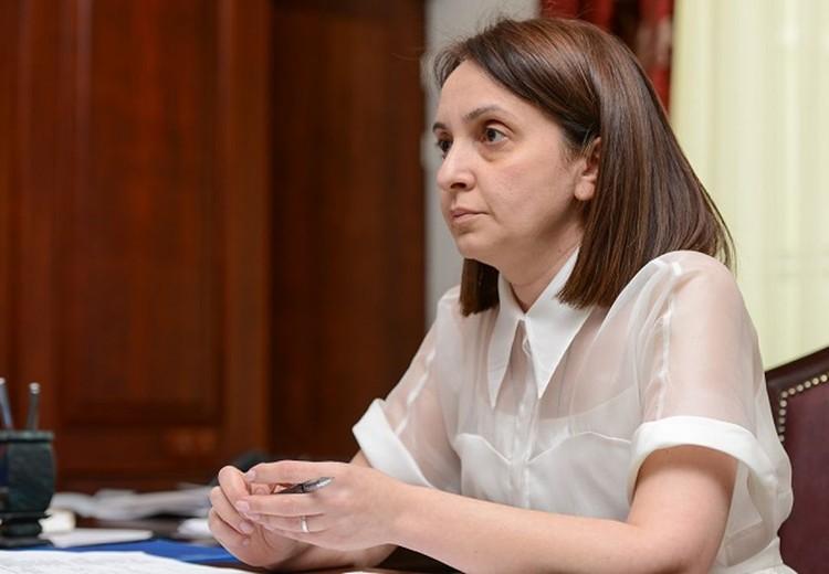 Министр образования и науки Северной Осетии Ирина Азимова. Фото с сайта правительства