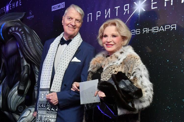 Людмила Максакова и Петер Андреас Игенбергс официально поженились в 1974 году.