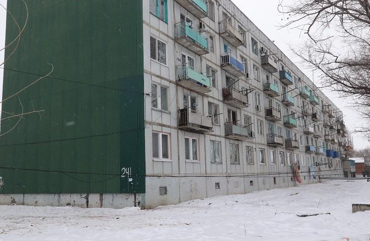 Дом, в котором Роман жил с супругой Ольгой