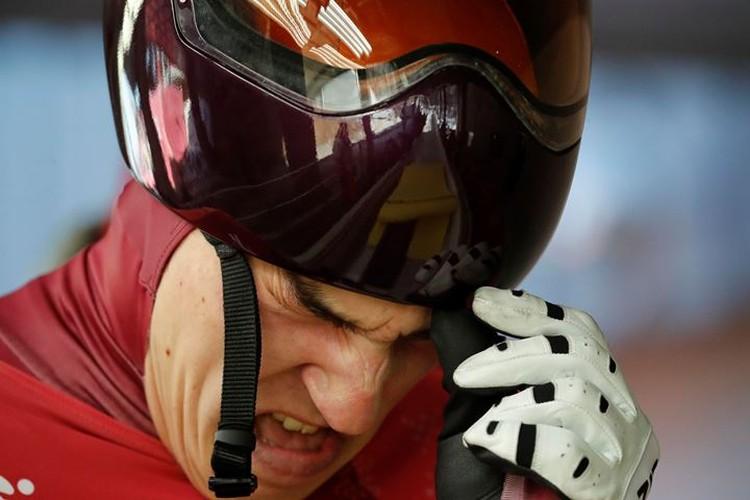 Скелетонист Владислав Марченков показал 15-й результат после первого заезда на ОИ-2018