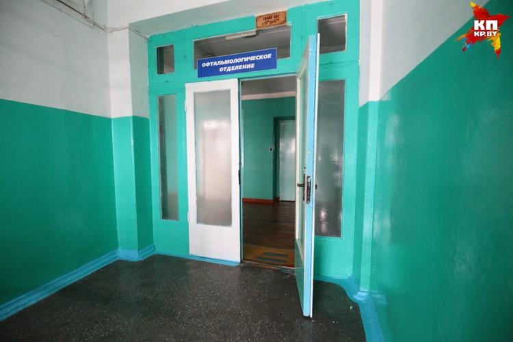 В этом отделении Бобруйской городской больницы скорой медицинской помощи работала мама Насти