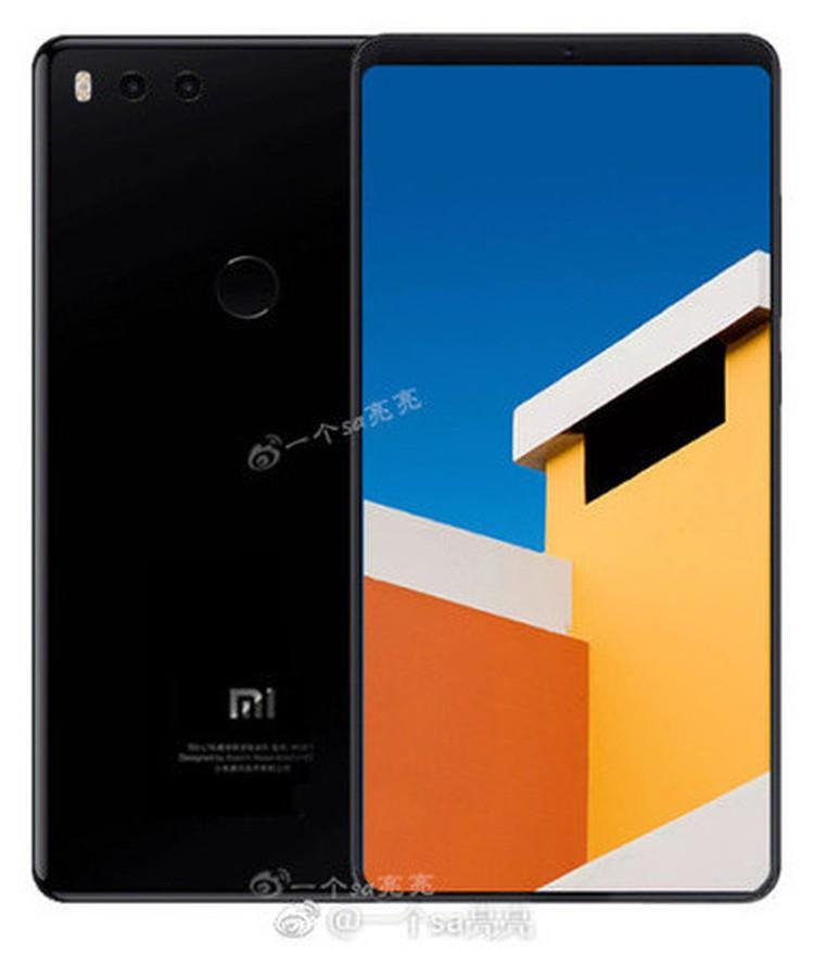 Фото Xiaomi Mi7, появившееся в сети за пару дней до презентации.
