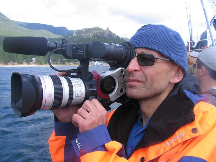 На пенсии Олег Шабуня продолжает снимать документальное кино.