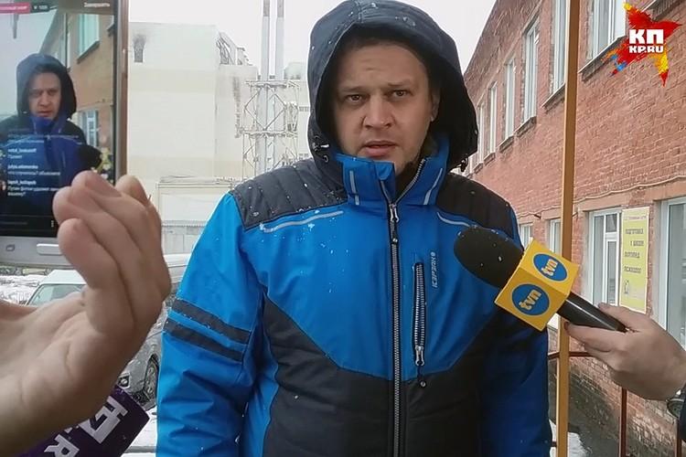Игорь Востриков в пожаре потерял всю свою семью