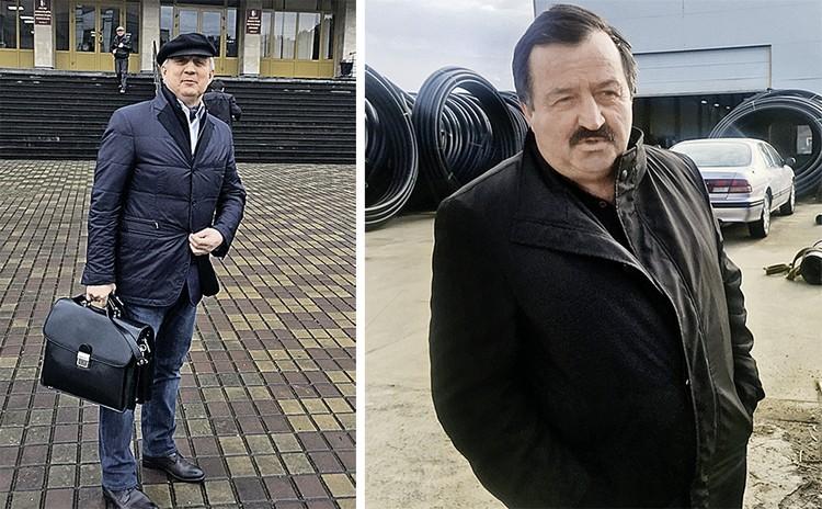 Российский инвестор Михаил Панов (на фото слева) утверждает, что абхазы украли у него завод. Роман Герия (справа) не возражает: да, забрали, но ради народа.