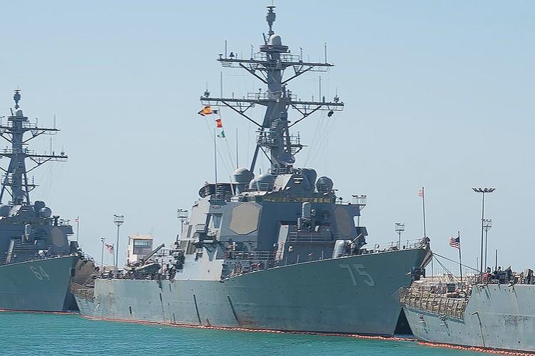 Эсминец ВМС США Donald Cook на базе Рота в Испании. ФОТО dvidshub.net