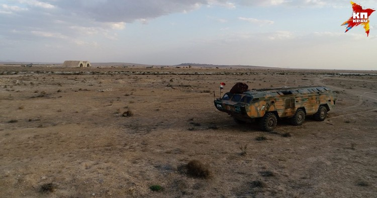 Военный корреспондент «КП» Александр Коц побывал на сирийском аэродроме Думейр к востоку от Дамаска