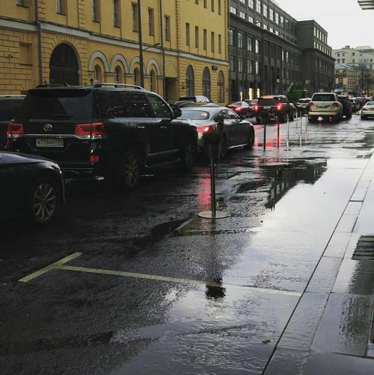 Дождь залил все, но быстро прошел