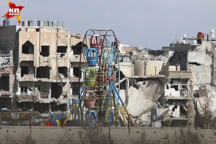 Ярмук - бывший лагерь палестинских беженцев, созданный ещё в 1957 году.