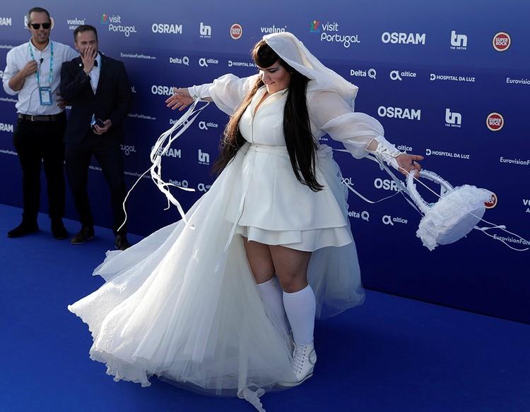 Израильская певица Нетта.