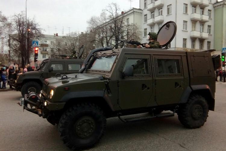 Военную технику представят около Технопарка