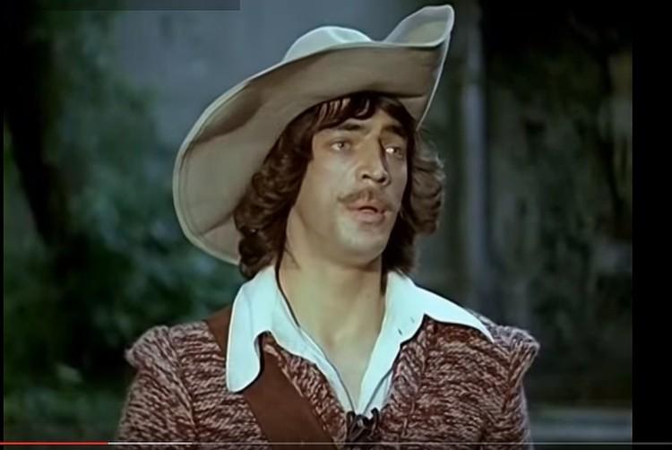 """Фильм """"Д'Артаньян и три мушкетера"""" вышел на экраны в 1979 году, тогда Боярскому было 30 лет"""