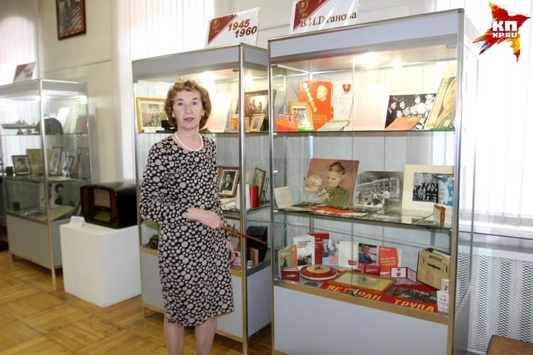 На выставке в Вышнем Волочке Валентине Гагановой отвели целый стенд