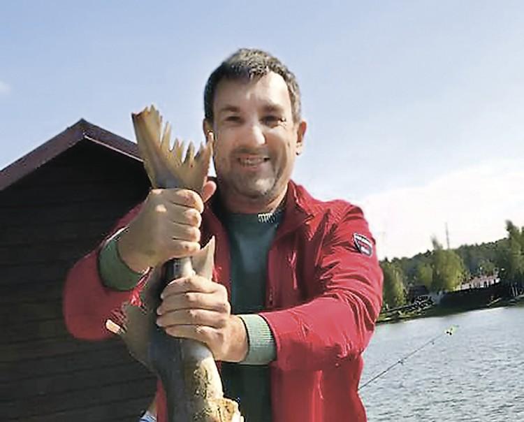 И. о. губернатора Амурской области Василий Орлов еще и рыбак.