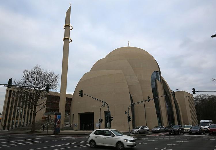 Мечеть в городе Кёльн.