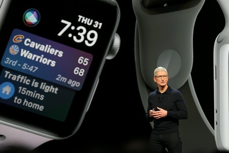 Тим Кук рассказал о возможностях пятой версии операционки для Apple Watch