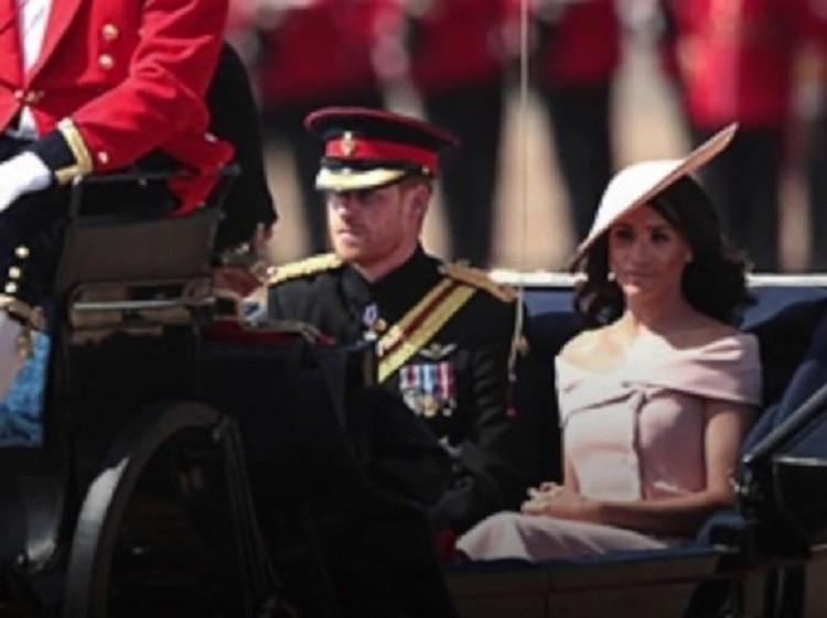 Супруга принца Гарри выбрала для публичного мероприятия платье с открытыми плечами