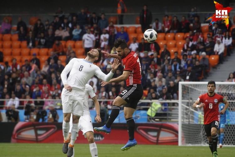 """Организаторы неоднократно заявляли, что все билеты на матч """"Египет""""- """"Уругвай"""" раскуплены."""