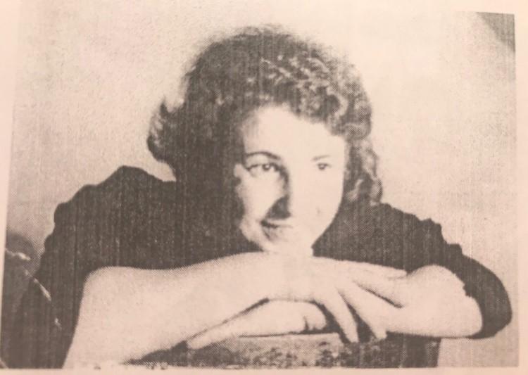 Шура Кисилева (фото 1938г.) Фото: из фондов музея им. Лизы Чайкиной