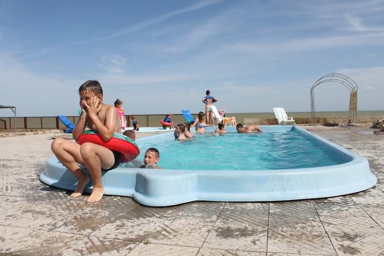 В Седово мало песчаных пляжей для детей