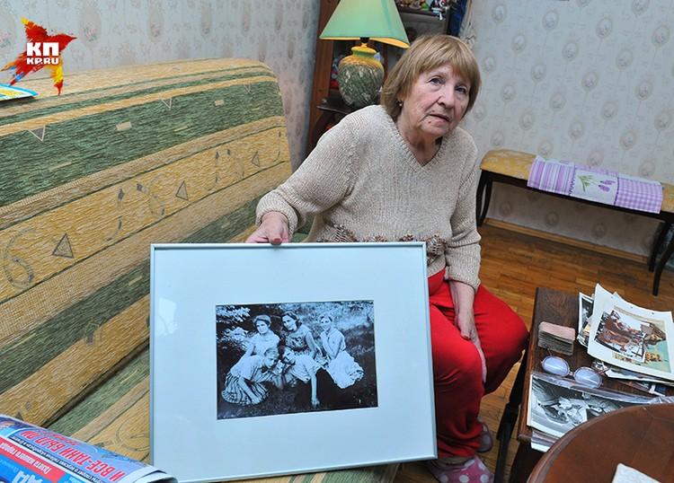 Сестра народной артистки СССР Нонны Мордюковой Наталья Катаева