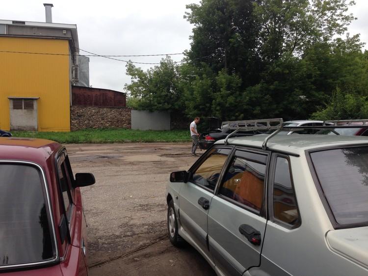 Машина из Чувашии с документами