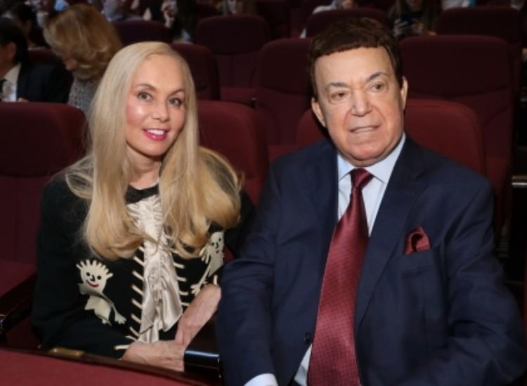 Иосиф Кобзон с женой Нелей